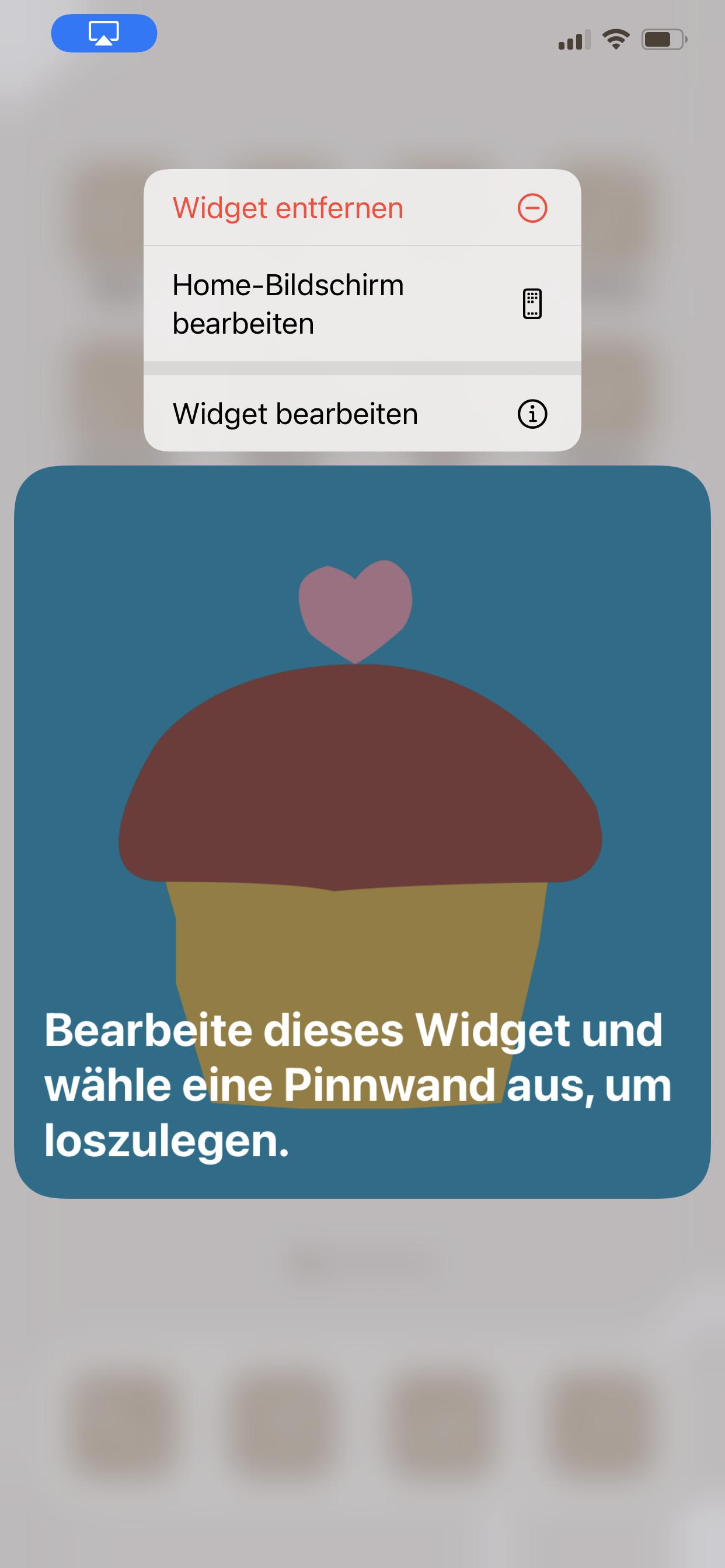 Pinterest Widget Visionboard